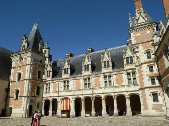 Chateau Royal de Blois: cortile gentilizio
