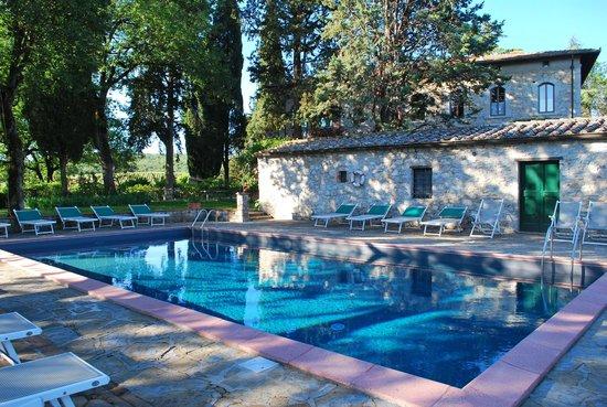 Querceto di Castellina : Swimming pool