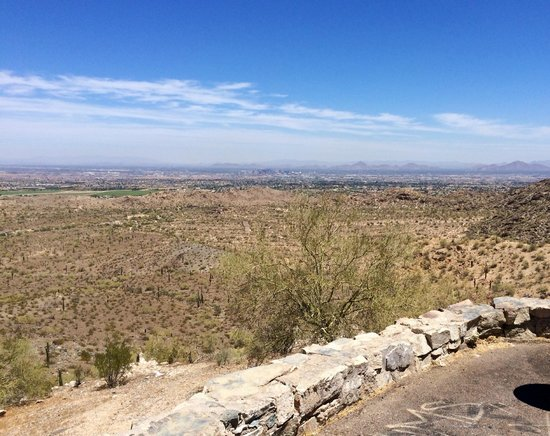 South Mountain Park: View from SO Mtn Park