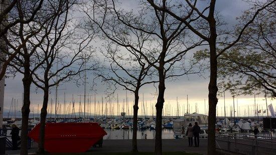 Le Ticino : Vista  do  lago  em  Lausanne ( Occhi )