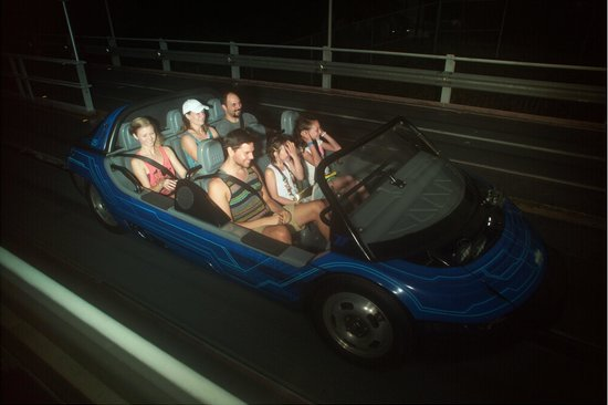EPCOT : Test Track ride