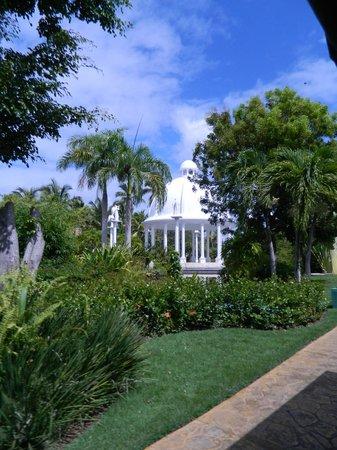 Meliá Caribe Tropical : Area para enevtos al aire libre