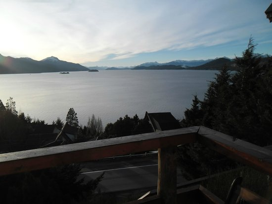 Apart Hotel Cabanas Balcon al Lago : Vista