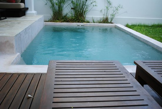 SALA Samui Resort And Spa: Plunge pool in the villa