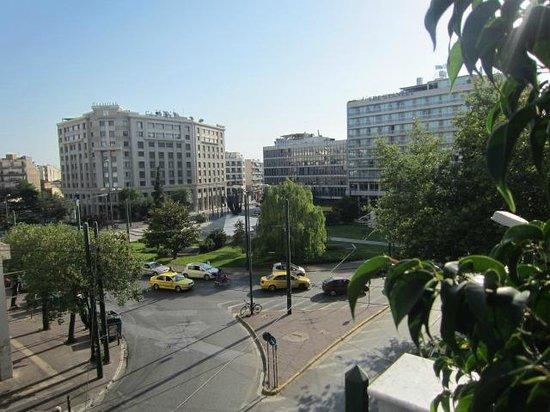 Katerina Hotel: Aussicht