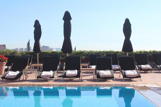 Hotel Arts Barcelona: Liggestole