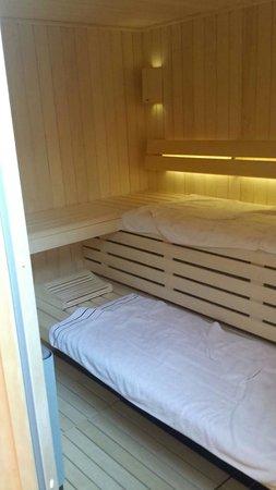 La Moutonnerie: L'espace privatif SPA avec Sauna.