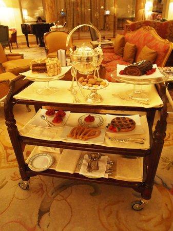 Hotel Ritz, Madrid : Afternoon Tea