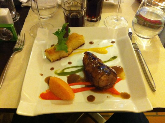 Le Caruso : Filet Mignon. Exzellent.