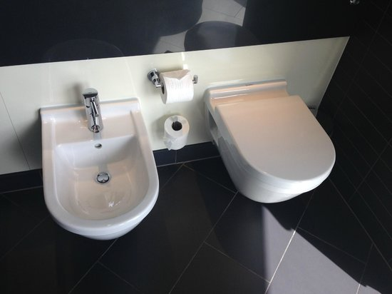 Radisson Blu Edwardian New Providence Wharf Hotel: Can't go wrong with a Bidet!
