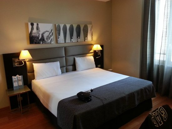 Eurostars Roma Aeterna: Double Bedroom