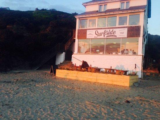Surfside at sunset