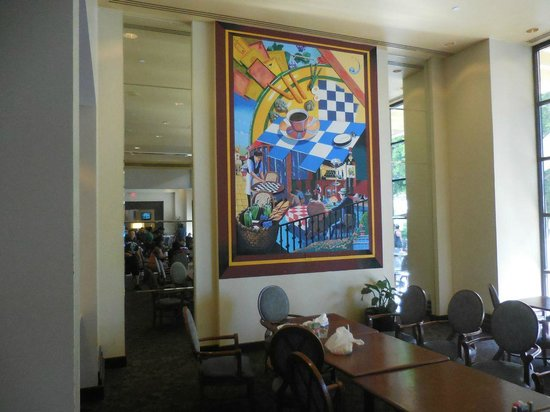 Sheraton Crescent Hotel: The breakfast restaurant