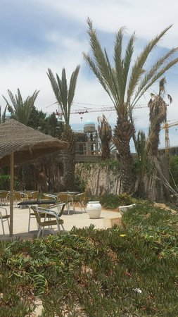 Marhaba Palace Hotel: View from beach bar