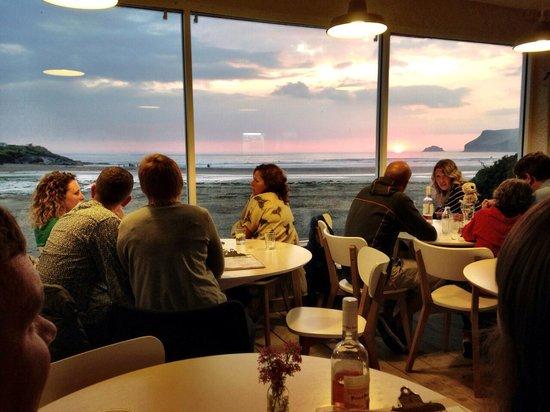 Surfside: Sunset after dinner