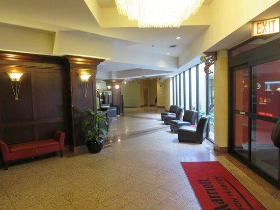 Boston Marriott Peabody: Peabody MA Marriott - Not worth the cost