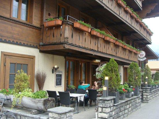 Restaurant Heimat: Detalhe da entrada
