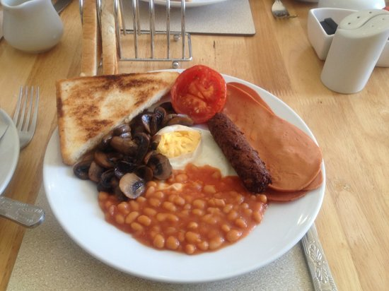 The Cumberland: The best Vegetarian breakfast ever!!!