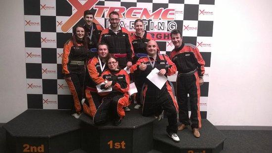 Xtreme Karting and Combat Edinburgh: Great race at Xtreme karting