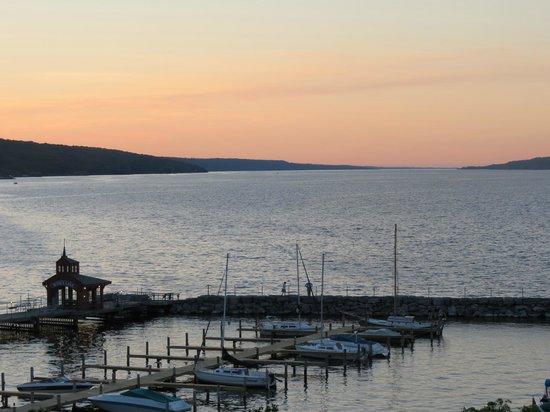 Watkins Glen Harbor Hotel : View