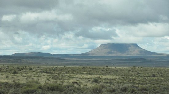 Jules of the Karoo: Their version of Table Mountain