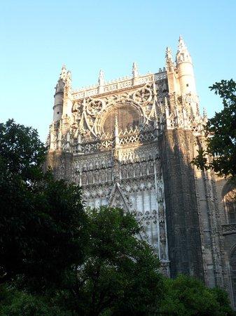 Catedral de Sevilla: Vista de la catedral.