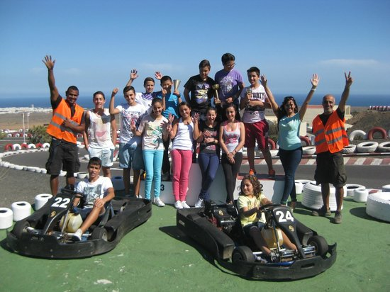 Go Karting San Bartolomé: All winners!