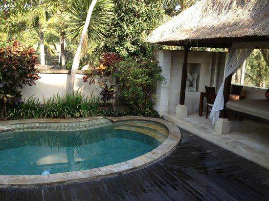 The Ubud Village Resort & Spa: Piscine de notre villa
