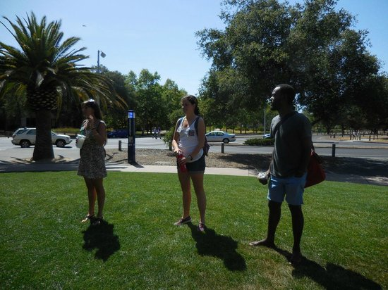 Stanford University: The three tour guides of that afternoon