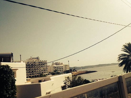 Hotel Abrat: View from pool