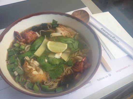 Wagamama : Seafood Ramen