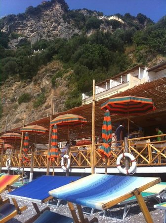 Hotel Pupetto: Beach bar