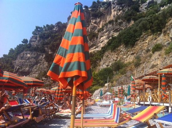 Hotel Pupetto: The beach