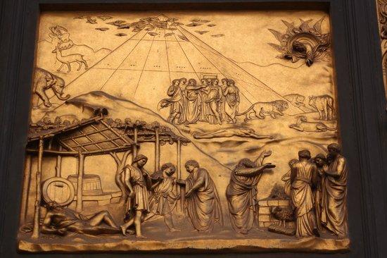 Baptistery of San Giovanni (Battistero): obra na porta