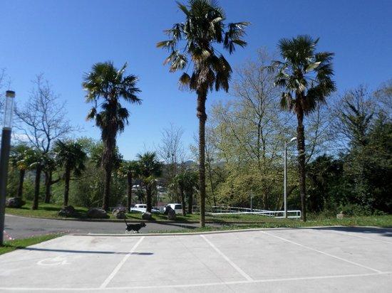 Green Nest Hostel Uba Aterpetxea: Outside