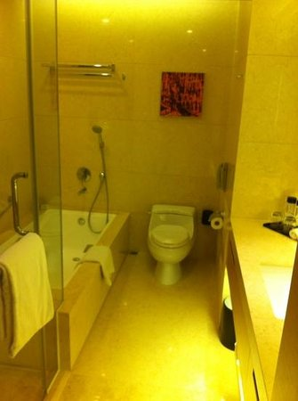 Crowne Plaza Hotel Hong Kong Causeway Bay: grande salle de bain: douche ET baignoire