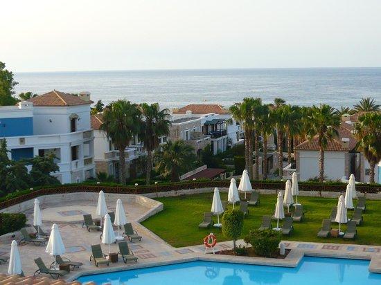 Aldemar Royal Mare Thalasso Resort : avant le couché du soleil