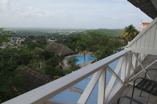 Cahal Pech Village Resort : View from the balcony