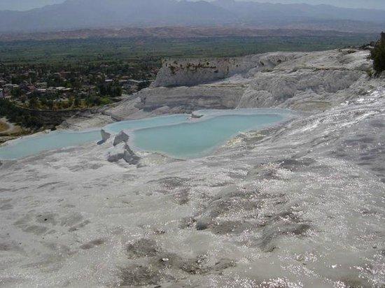 Pamukkale Thermal Pools : Pamukkale