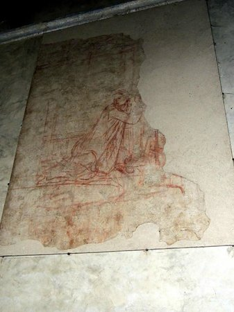 Eremo di Montesiepi: disegni interno cappella
