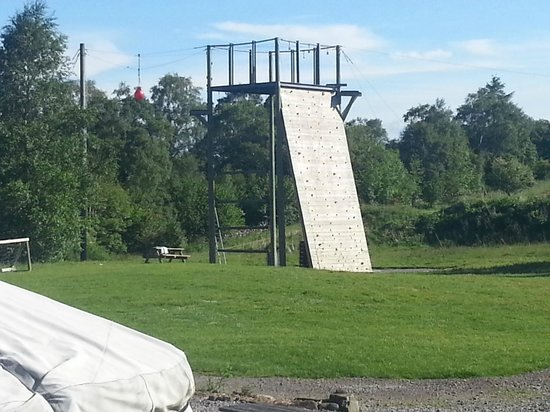 Galloway Activity Centre: Climbing wall
