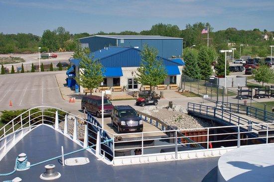 Lake Express : Terminal in Muskegon