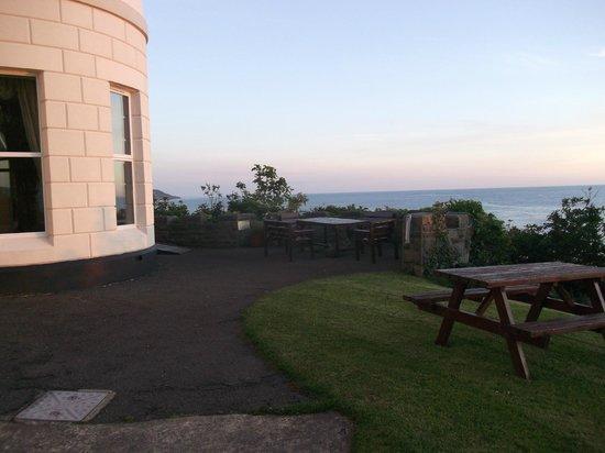 Ty'r Graig Castle : Sunset