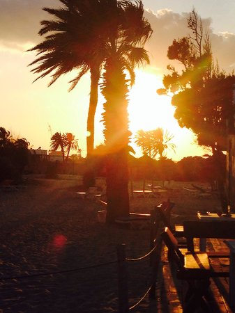 Eden Club Skanes : Gorgeous location. Private beach at sunset!