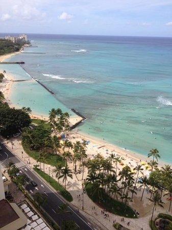 Hyatt Regency Waikiki Resort & Spa: Spectacular view from Ocean View Room