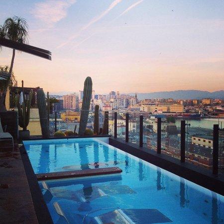 Piscine rooftop foto di romeo hotel napoli tripadvisor - Hotel bangkok piscina ...