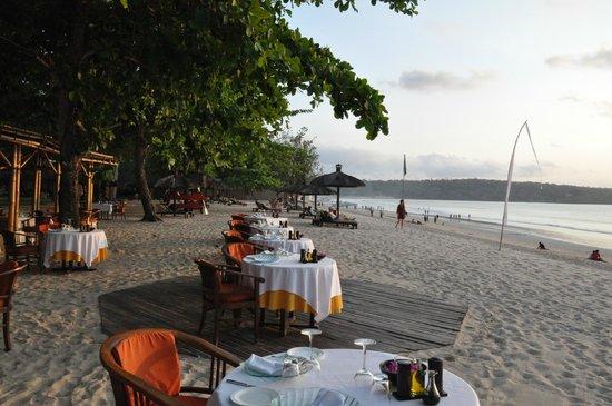Belmond Jimbaran Puri: Sur la plage