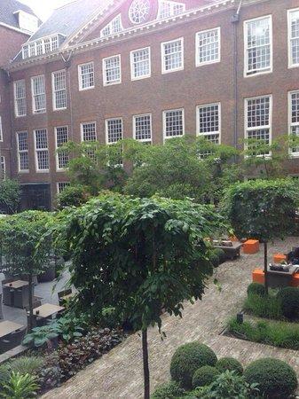 Sofitel Legend The Grand Amsterdam : The hotel garden
