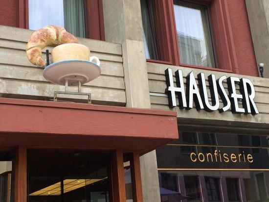Outside Hauser Restaurant