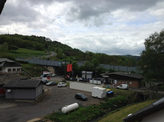 Hotel an der Nordschleife: View from the balcony